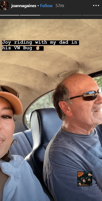 Joanna Gaines Shares Sweet Moments Of Riding With Her Dad Jerry