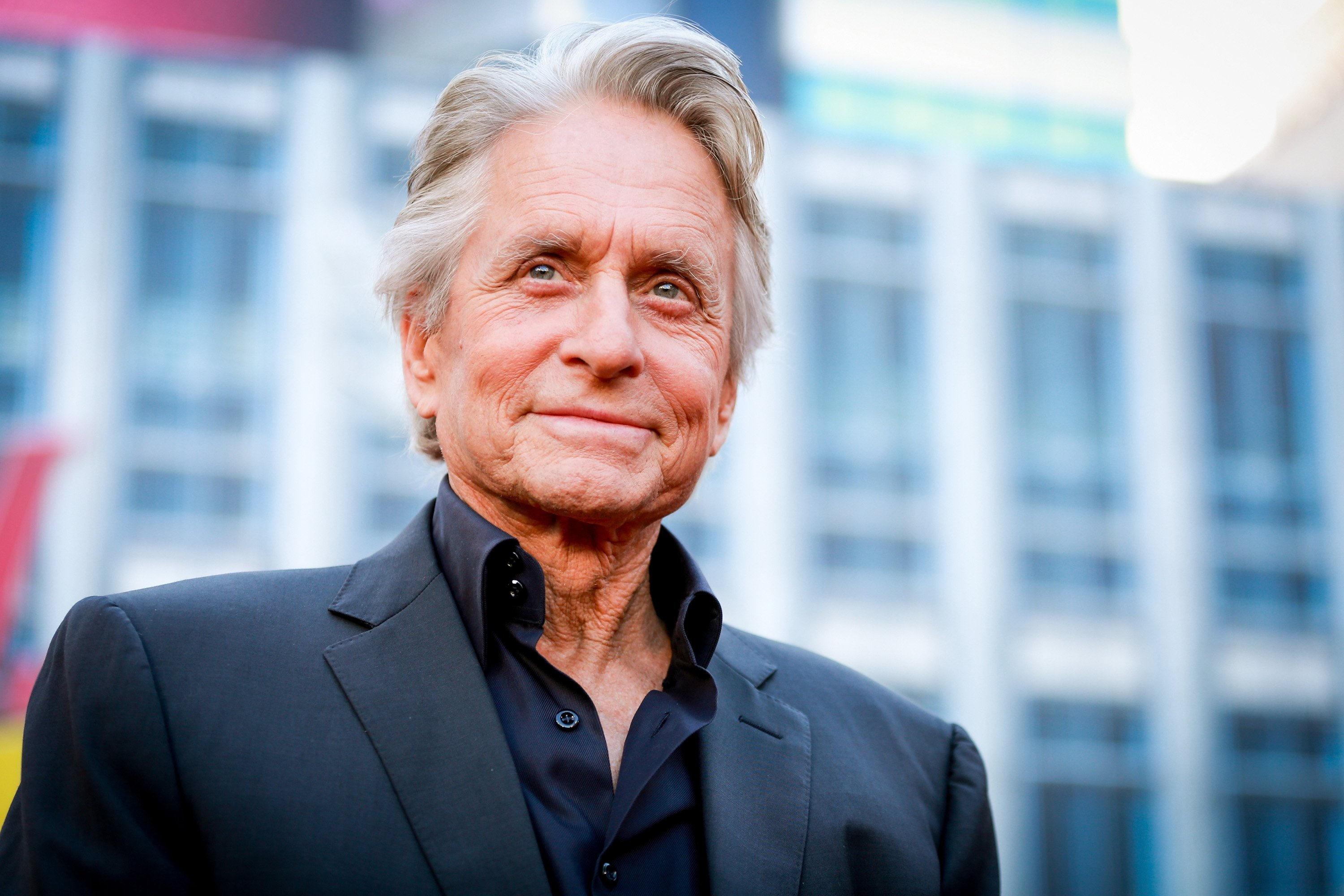 Michael Douglas attends the premiere of Disney And Marvel's 'Ant-Man And The Wasp' on June 25, 2018, in Hollywood, California. | Source: Getty Images.
