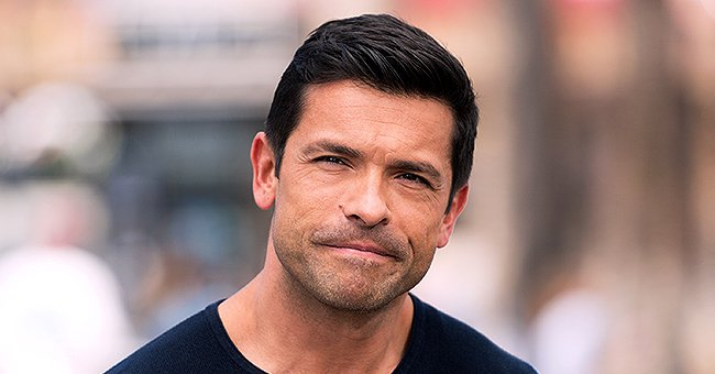 Kelly Ripa's Husband Mark Consuelos Gets Visibly Upset after Their Son's Headgear Is Ripped off during Wrestling Match