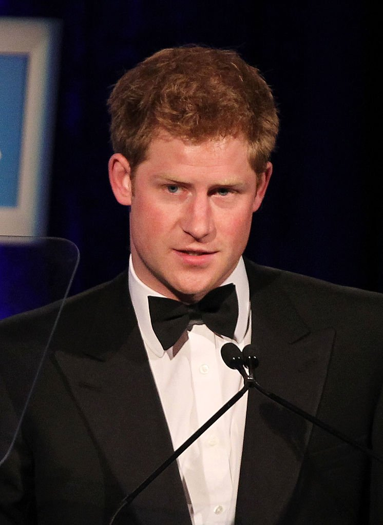 Prince Harry, Duke of Sussex speaks after receiving the Distinguished Humanitarian Leadership Award at the Atlantic Council's Annual Awards at Ritz Carlton Hotel on May 7, 2012 in Washington, DC | Photo: Getty Images