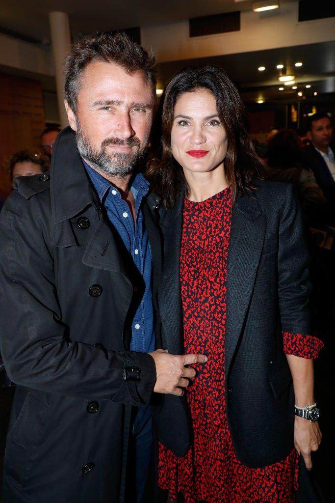 Alexandre Brasseur et sa compagne Juliette. l Source : Getty Images