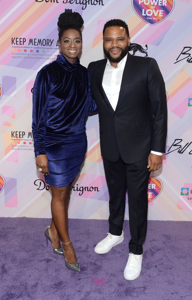 Alvina Stewart and Anthony Anderson attend the 23rd annual Keep Memory Alive 'Power of Love Gala' benefit for the Cleveland Clinic Lou Ruvo Center   Source: Getty Images