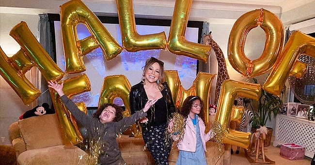 Mariah Carey Shares Post Showing Her Songwriters Hall of Fame Induction Celebration with Her Twins