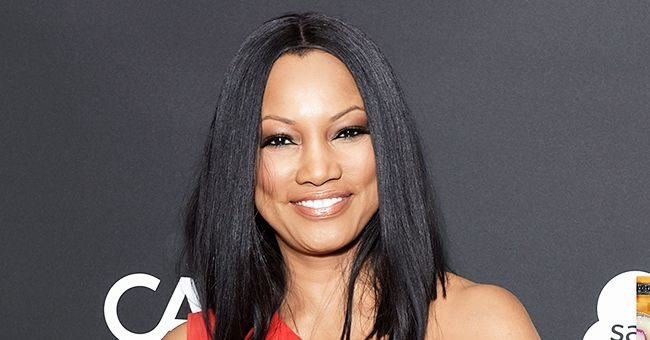 Garcelle Beauvais Shows off Her Gorgeous New Hairstyle as She Poses in a Black & White Outfit