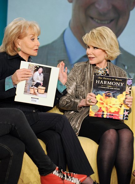 """Joan Rivers discusses her friendship with Prince Charles on """"THE VIEW"""" 