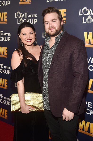 "Amy Duggar and Dillon King at WE TV celebrates the return of ""Love After Lockup"" in Beverly Hills, California.