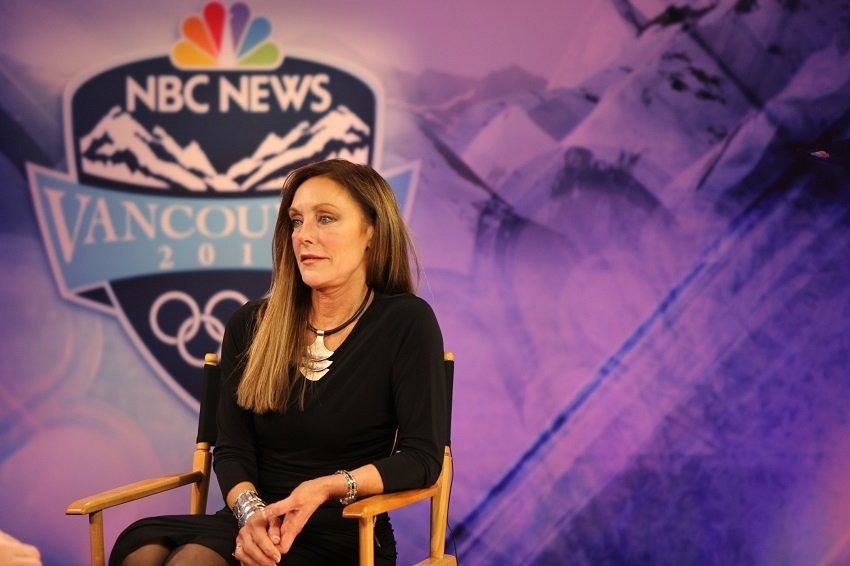Peggy Fleming in an interview with NBC News in 2010 | Photo: Getty Images