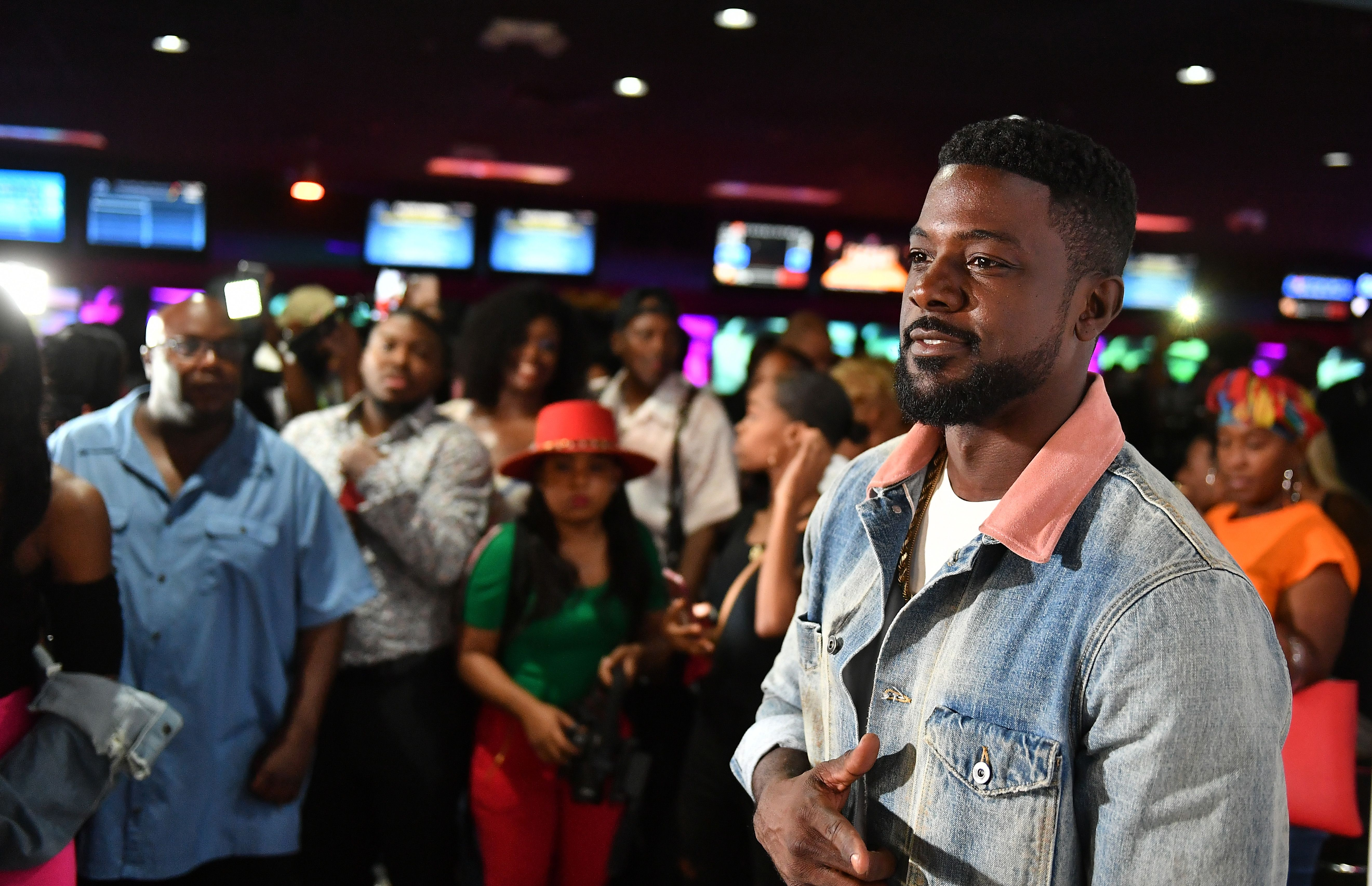 Lance Gross at the Annual LudaDay Weekend Celebrity Bowling Tournament on August 30, 2019 in Atlanta. | Photo: Getty Images