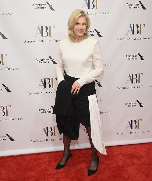 Diane Sawyer at The American Ballet Theatre 2018 Fall Gala in New York City.| Photo: Getty Images