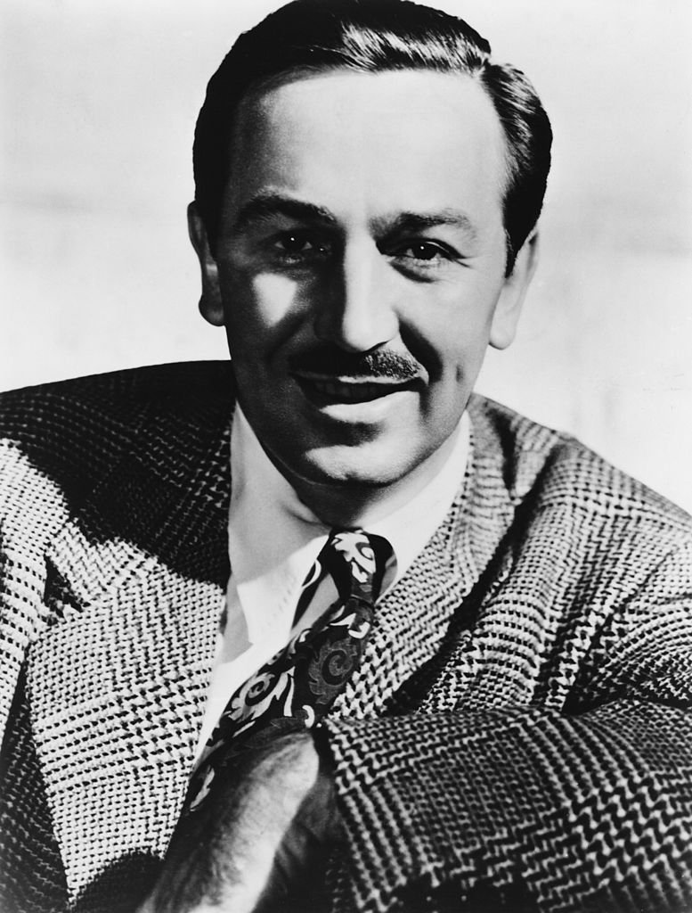 American producer, director, and animator Walt Disney (1901 - 1966), circa 1955. | Getty Images