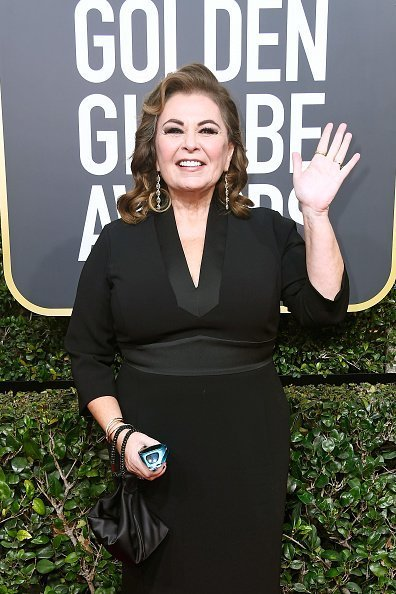 Roseanne Barr attends The 75th Annual Golden Globe Awards at The Beverly Hilton Hotel on January 7, 2018, in Beverly Hills, California. | Source: Getty Images.