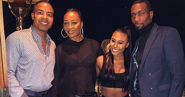 Cynthia Bailey's Fiancé Mike Hill Addresses Criticism over the RHOA Star's Daughter Staying with Him in LA