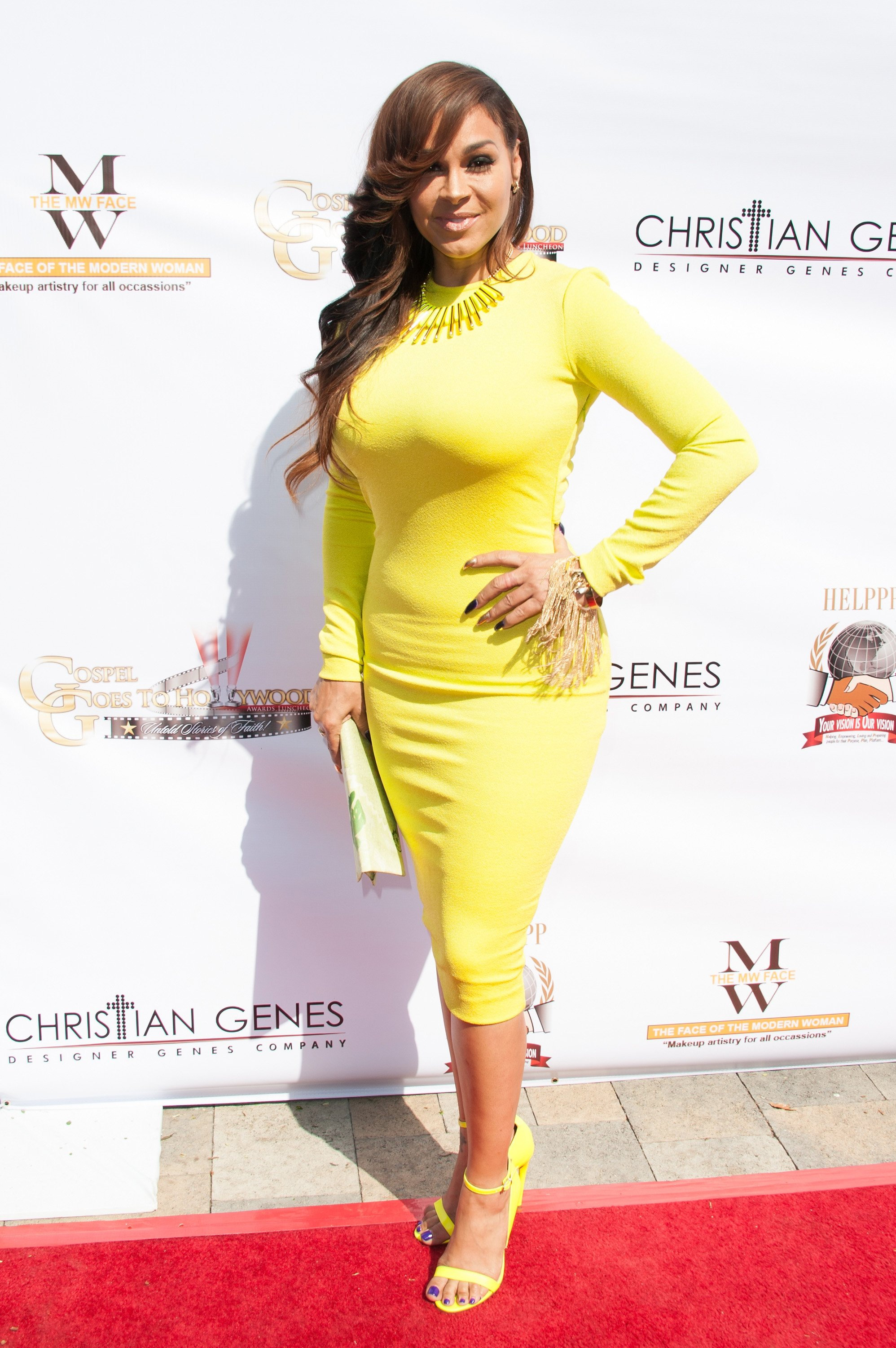 Sheree Zampino at the Gospel Goes To Hollywood event on Feb. 26, 2016 in California | Photo: Getty Images
