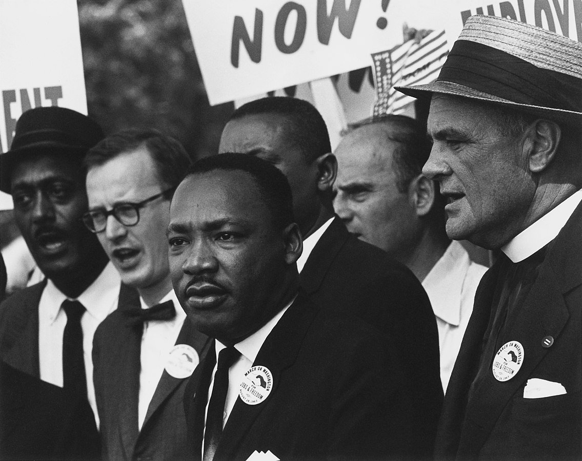 King at the 1963 Civil Rights March in Washington, D.C. | Photo: Wikimedia Commons Images