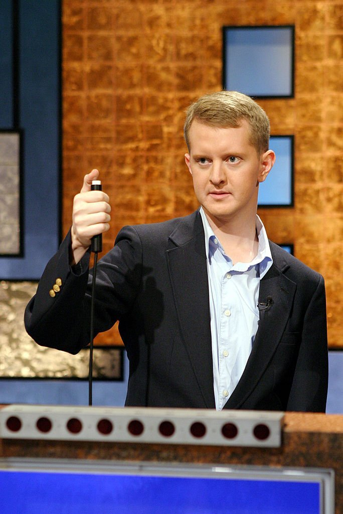 Ken Jennings poses on Jeopardy! | Getty Images