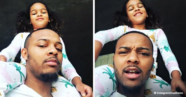 Bow Wow's daughter melts hearts with her smile while rapping with dad in adorable video