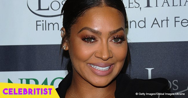 La La Anthony's grown up son looks just like his mother in new photo with sweet gift