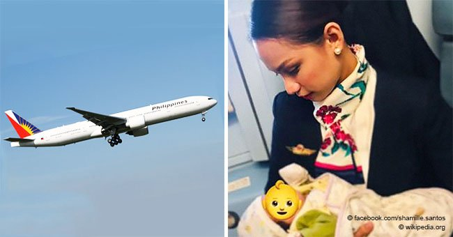 Flight attendant goes viral for breastfeeding passenger's crying baby during a flight