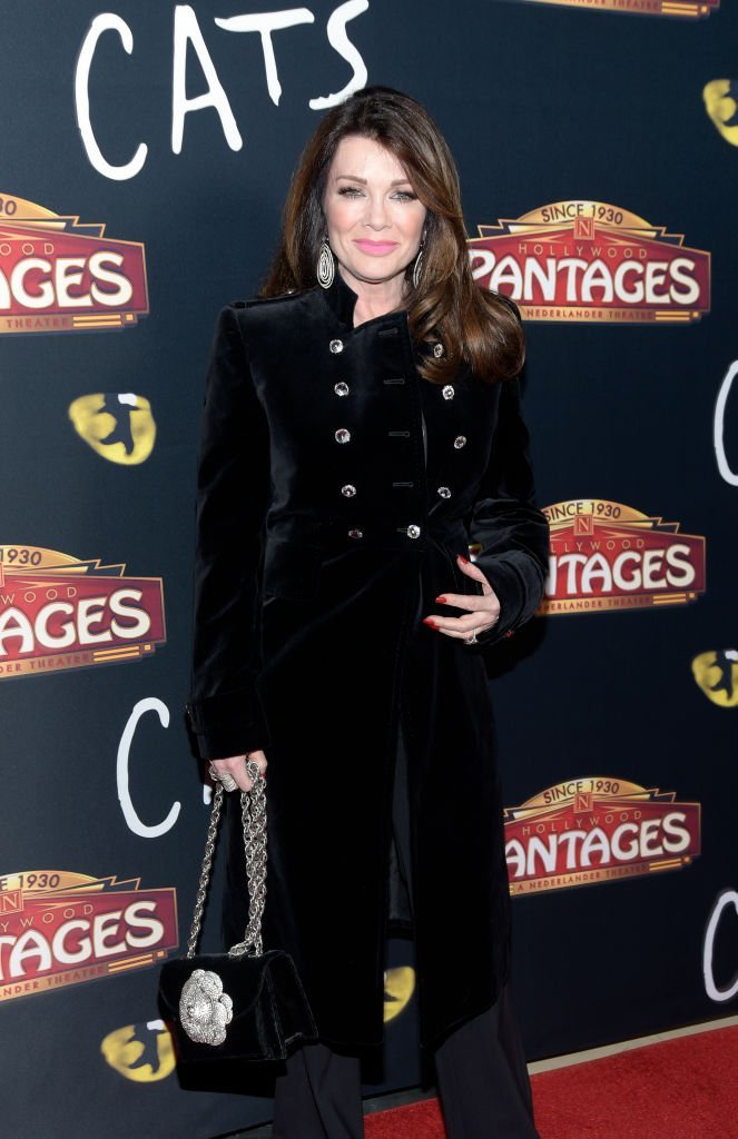 """Lisa Vanderpump at the Los Angeles opening night performance of """"Cats"""" 