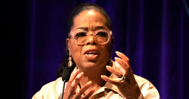 Oprah Winfrey Falls down Onstage While Talking about Balance during Her '2020 Vision' Tour