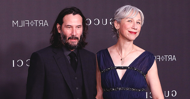 Keanu Reeves of 'John Wick' Shows PDA as He Holds Hands with Artist Alexandra Grant on the LACMA Art + Film Gala Red Carpet