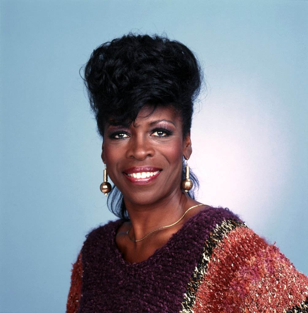 """Actress Roxie Roker, best known for her role as Helen Willis on the sitcom """"The Jeffersons,"""" poses for a portrait session in circa 1982. 