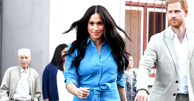 Meghan Markle Recycles Blue Dress She Wore Last Year in Tonga for Royal Tour of Africa