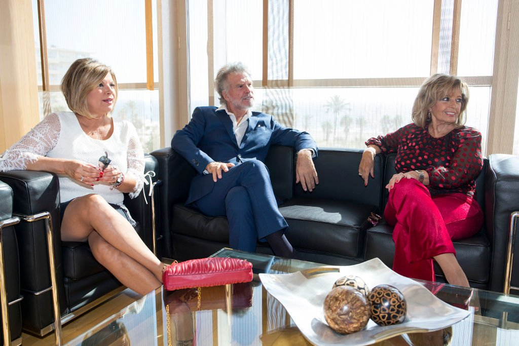 Terelu Campos, Bigote Arrocet and María Teresa Campos en 'Hijos favoritos y adoptados de Málaga', el 26 de septiembre de 2017. | Imagen: Getty Images