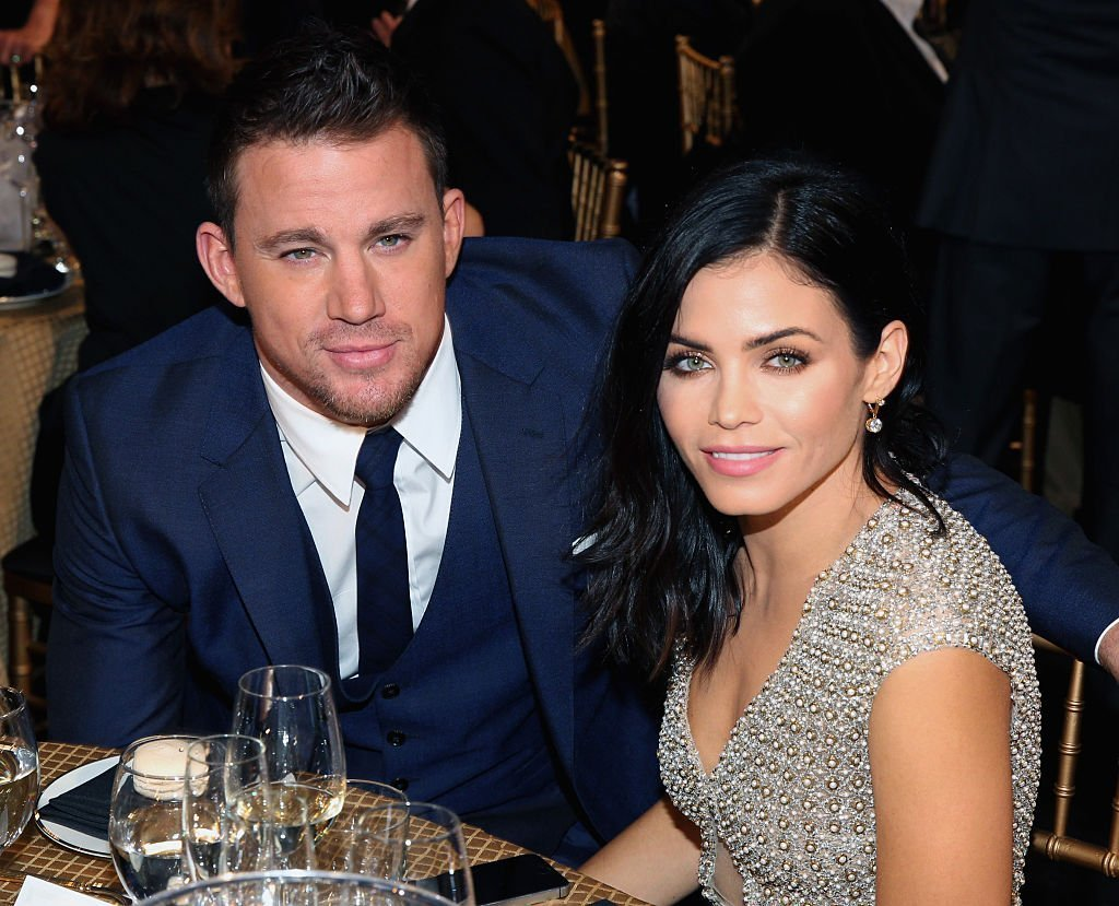 Channing Tatum (L) and actress Jenna Dewan Tatum attend The 18th Annual Hollywood Film Awards at The Palladium on November 14, 2014, in Hollywood, California. | Source: Getty Images.