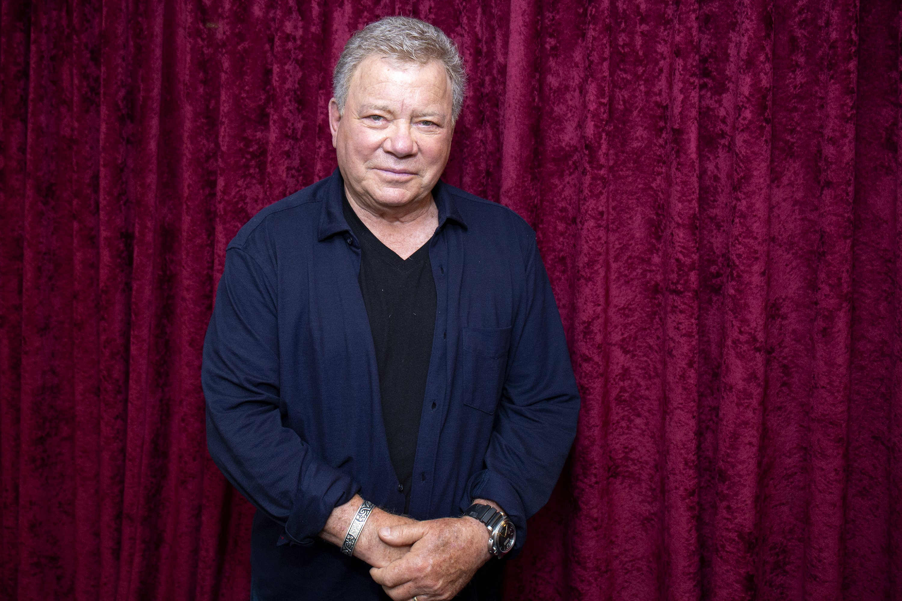 William Shatner visits SiriusXM Studios on September 6, 2018 in New York City | Photo: GettyImages