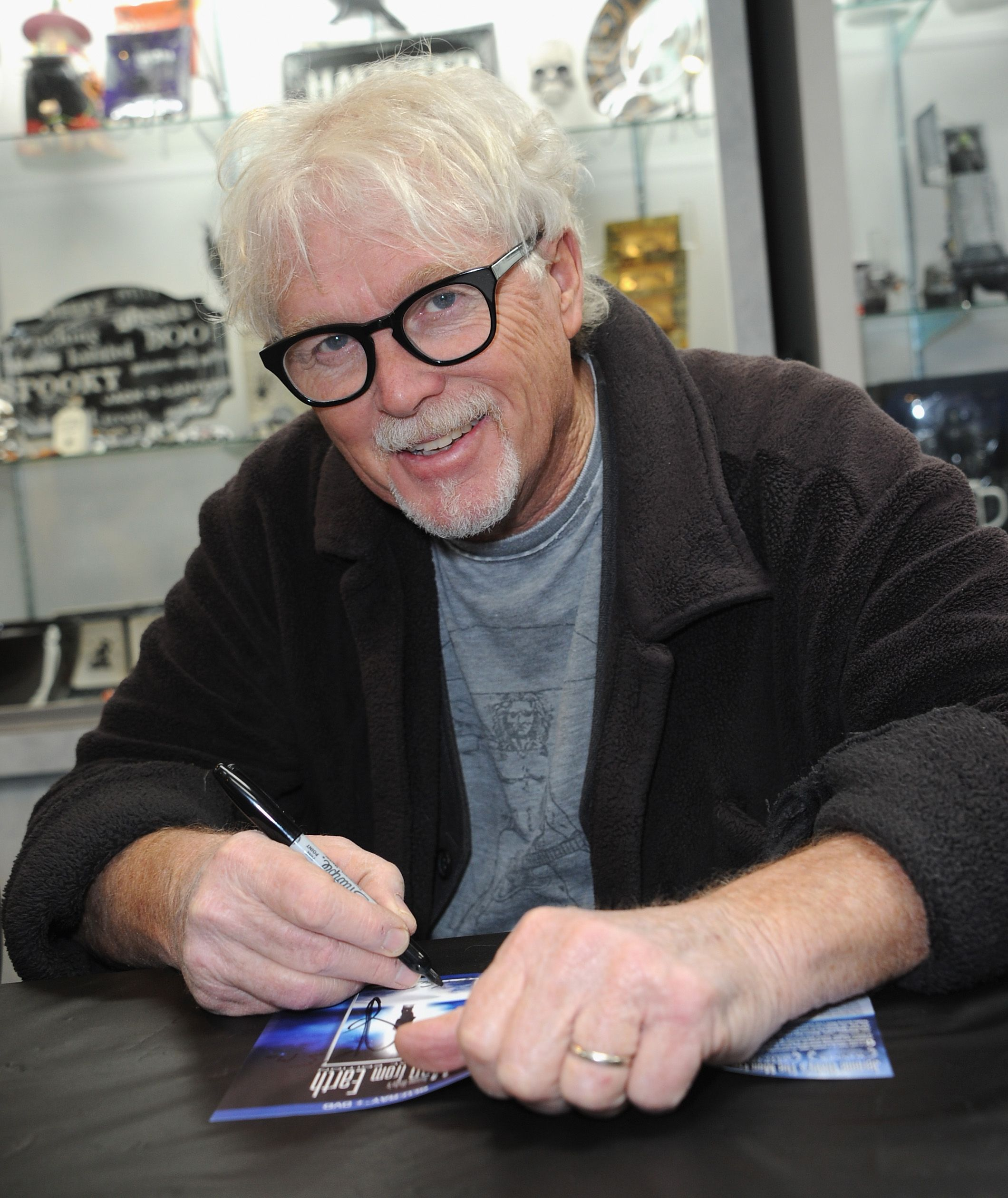 William Katt at The Man From Earth signing held at Dark Delicacies Bookstore on March 7, 2018 in Burbank, California | Photo: Getty Images