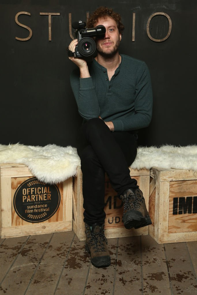 Director Jack Henry Robbins from 'Painting with Joan' attend The IMDb Studio and The IMDb Show on Location at The Sundance Film Festival  | Global Images Ukraine