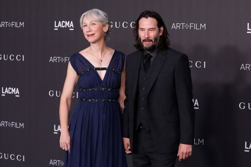 Alexandra Grant and Keanu Reeves attend the 2019 LACMA Art + Film Gala at LACMA. | Photo: Getty Images
