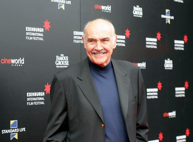 Sean Connery at Cineworld in Edinburgh, Scotland, on August 25, 2006   Photo: Getty Images