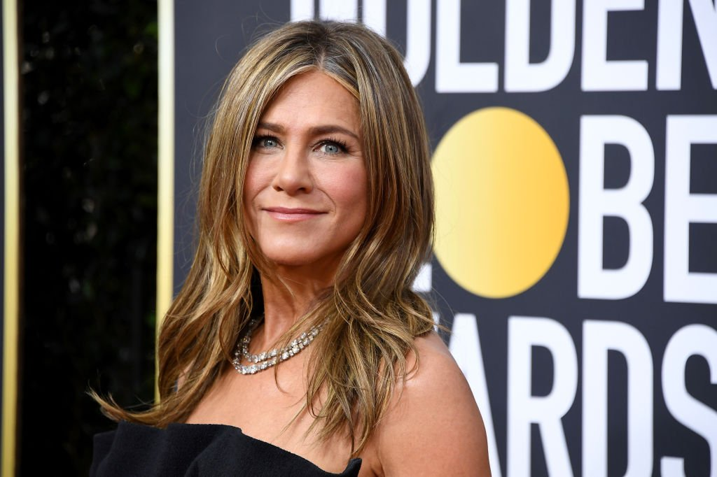Jennifer Aniston on the red carpet of the 77th Annual Golden Globe Awards on January 5, 2020. | Photo: Getty Images