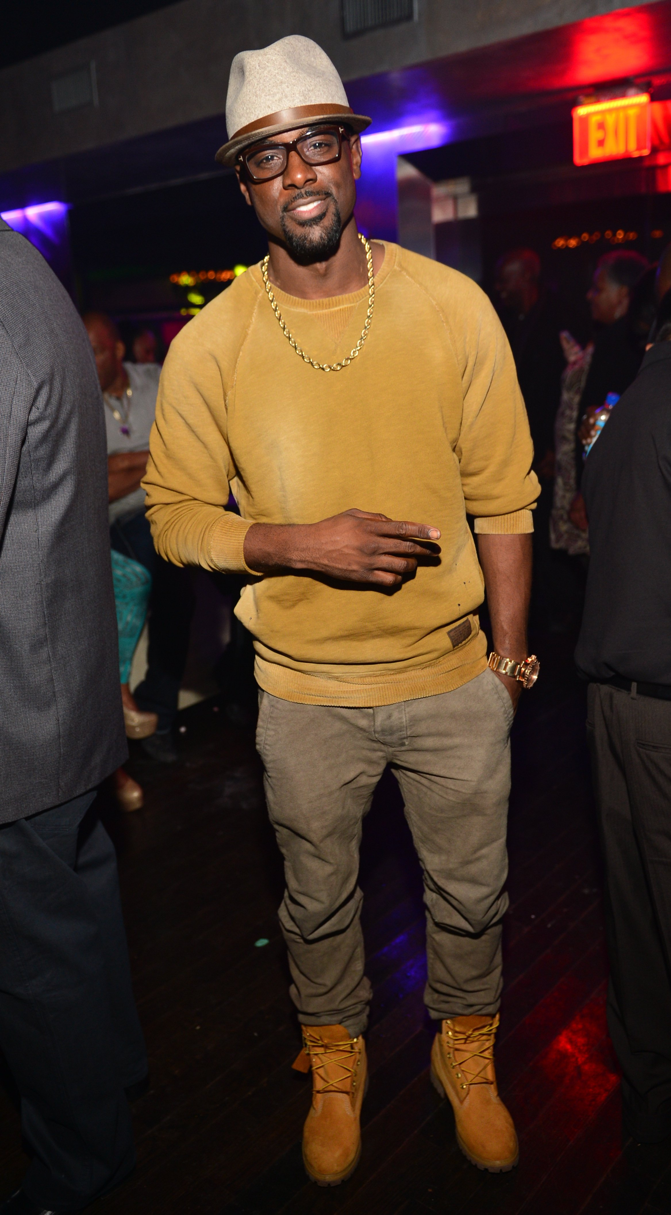 Lance Gross at Prive on November 15, 2013 in Atlanta, Georgia | Photo: Getty Images