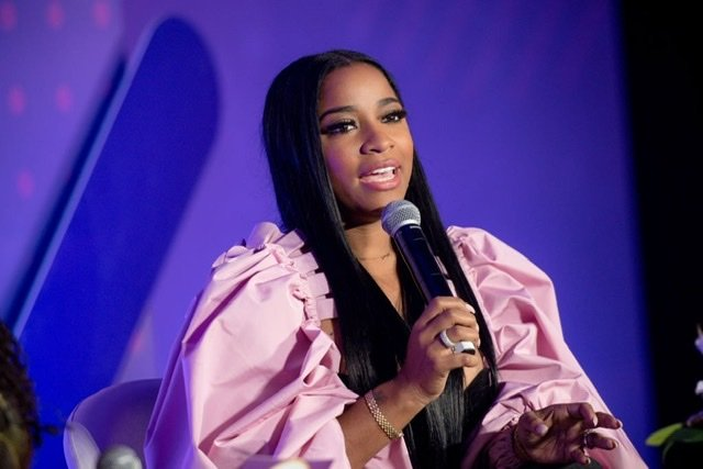 Toya Wright on stage during the 2019 Essence & Target Holiday Market at West End Production Park | Source: Getty Images/GlobalImagesUkraine