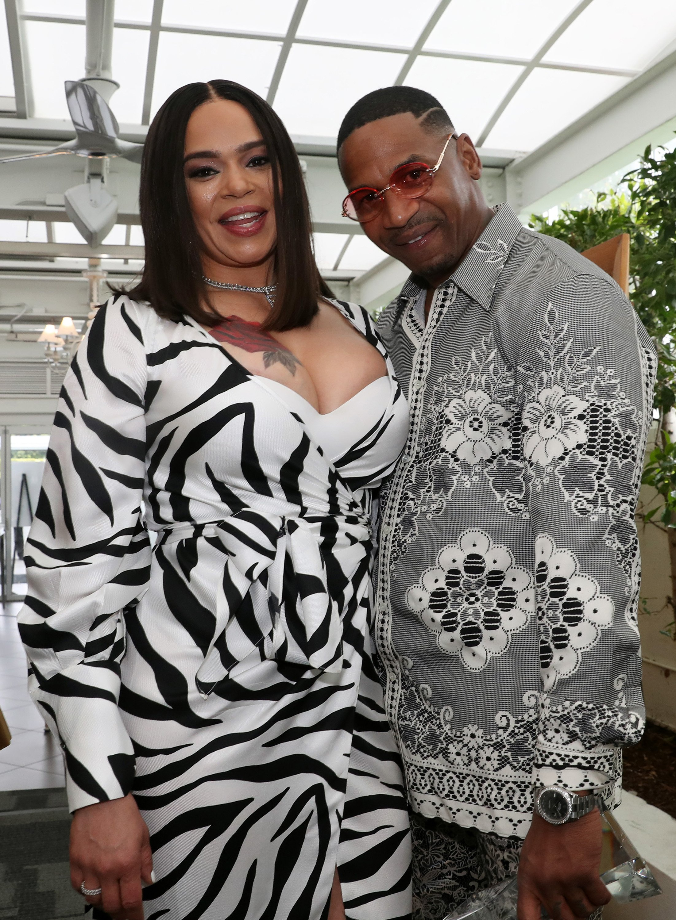 Faith Evans and Stevie J attend the Bryan Michael Cox 16th Annual Music and Memory Pre-Grammy Brunch in January 2020. | Photo: Getty Images