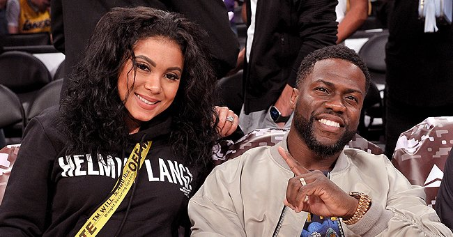 Check Out Kevin Hart's Wife Eniko's Slimmer Belly in a Black Top Less Than 2 Weeks after Labor