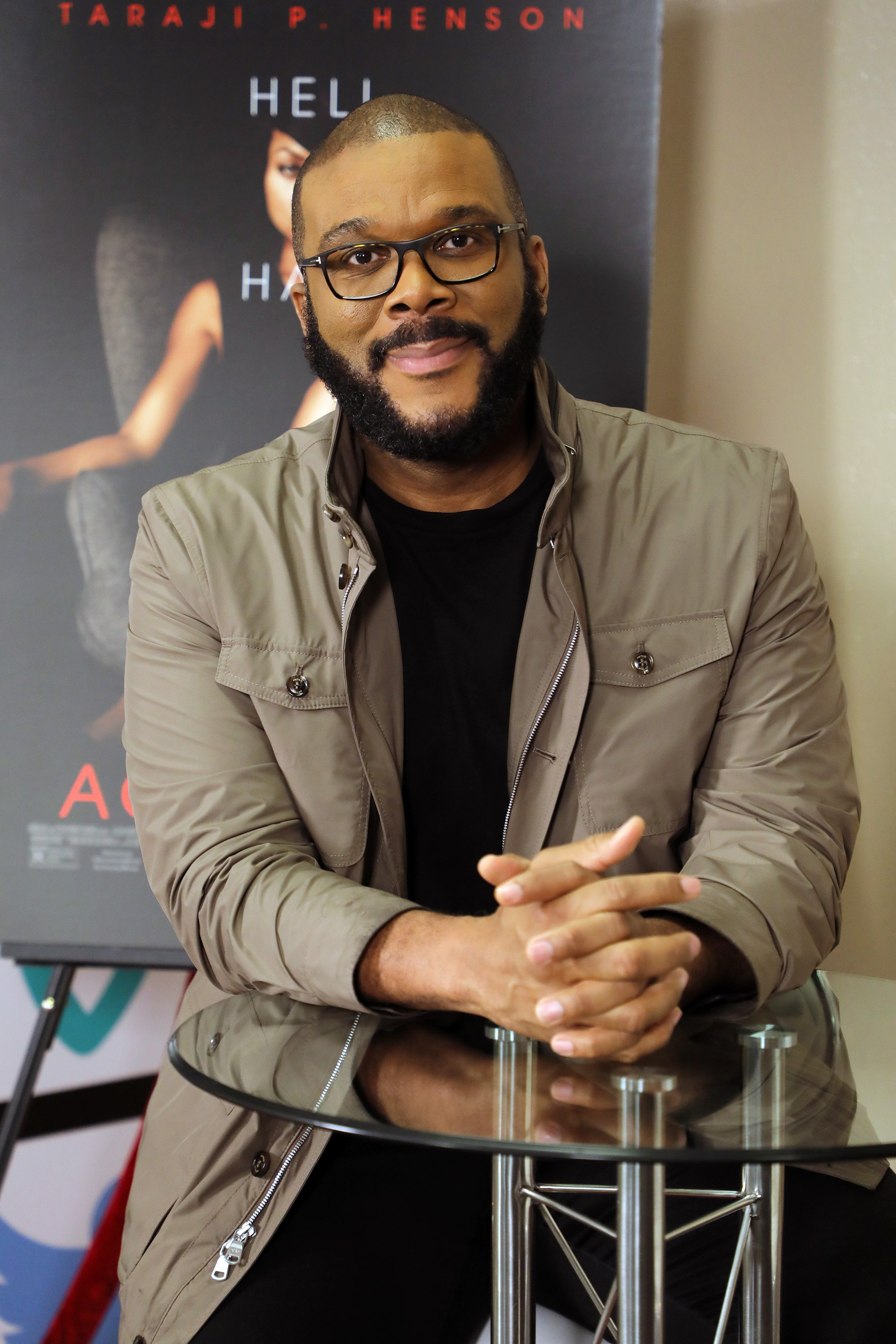 Mega producer Tyler Perry promoting a film in Florida in March 2019. | Photo: Getty Images