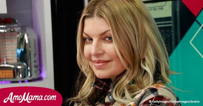 Fergie is seen enjoying a night out with her 4-year-old son, and he looks like her mini-me
