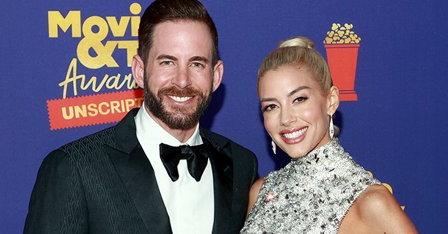 A portrait of Tarek El Moussa and Heather Rae Young   Photo: Getty Images