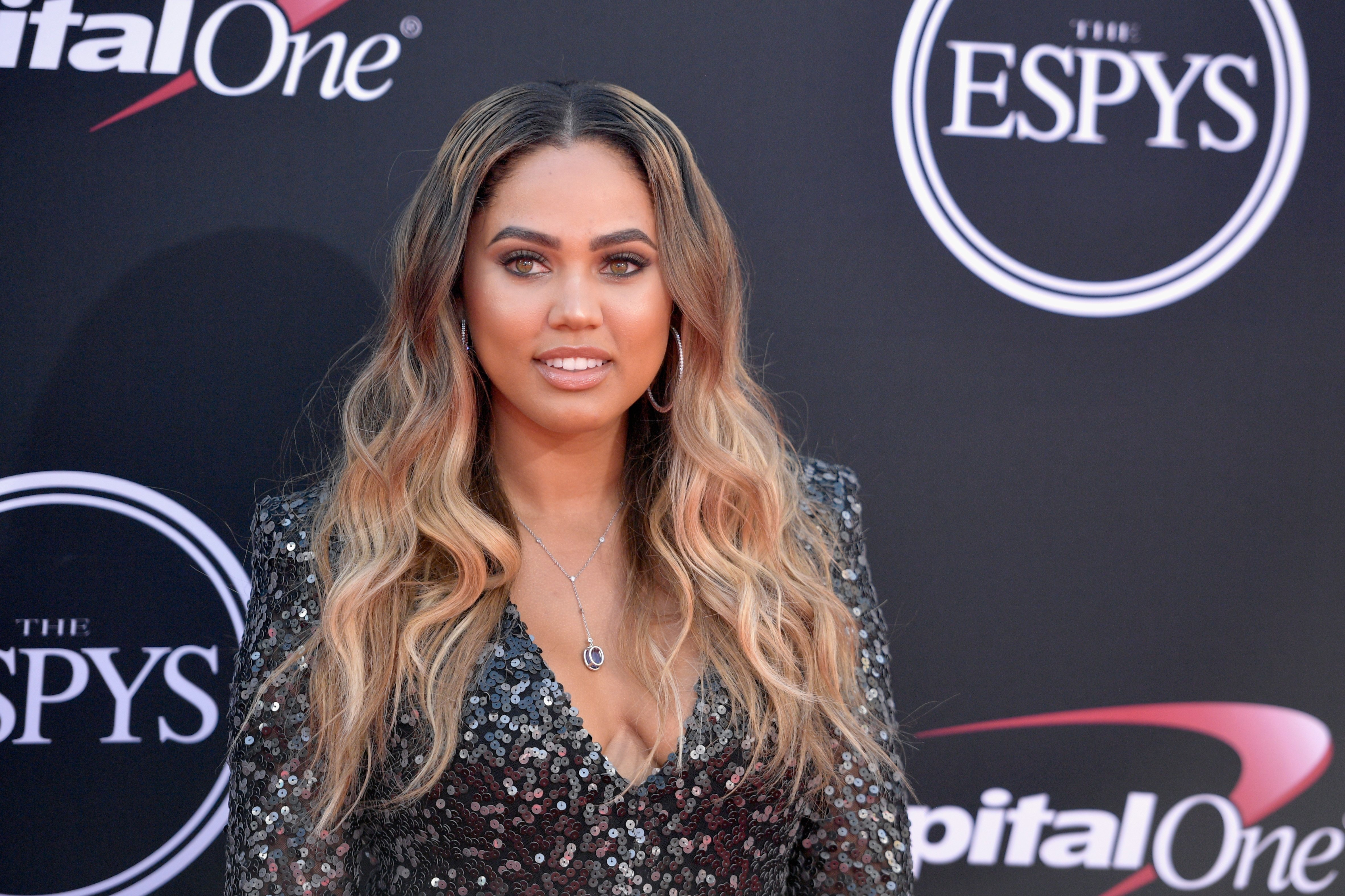 Ayesha Curry at The ESPYS at Microsoft Theater on July 12, 2017 in California | Photo: Getty Images