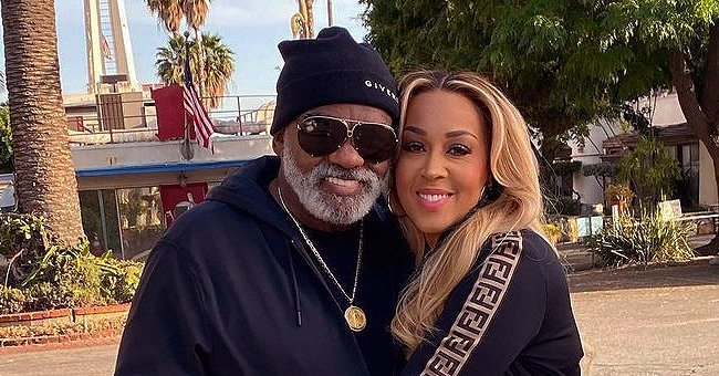 Ronald Isley & His Much Younger Wife Pose in Matching Gold Suits on His 80th B-Day in New Pics