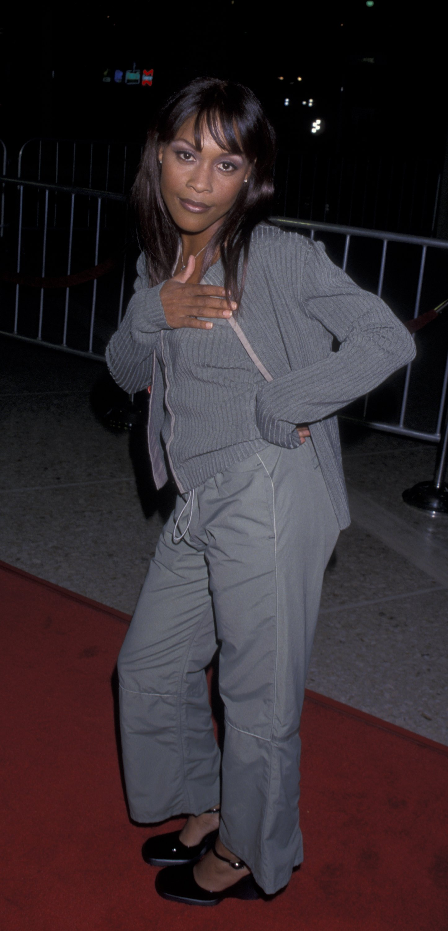 """Monica Calhoun at the premiere of """"The Best Man"""" on October 14, 1999   Photo: Getty Images"""