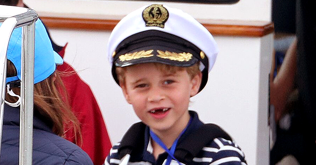 Le Prince George a montré sa dentition lors d'un événement particulier