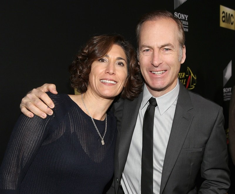 Naomi Odenkirk and Bob Odenkirk on February 2, 2016 in Culver City, California   Photo: Getty Images