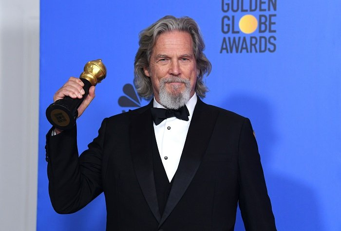 Jeff Bridges poses in the press room during the 76th Annual Golden Globe Awards at The Beverly Hilton Hotel on January 6, 2019 in Beverly Hills, California I Image: Getty Images