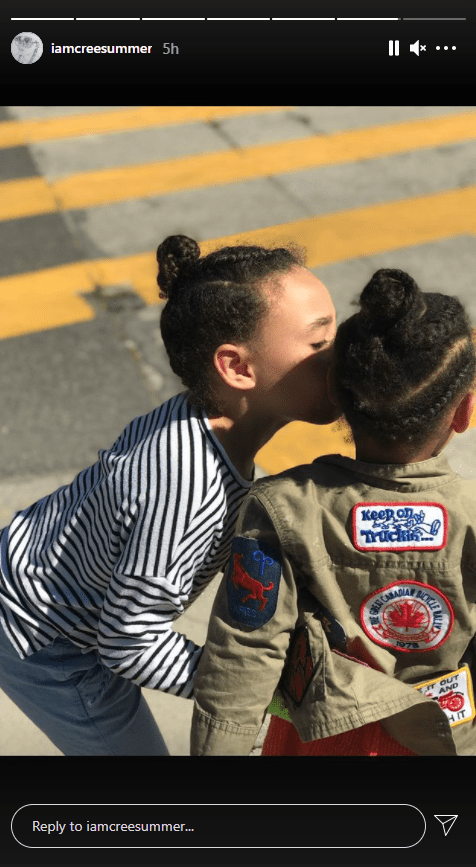 A photo of musician Cree Summer's adorable kids Brave & Hero on Instagram   Photo: Instagram/iamcreesummers