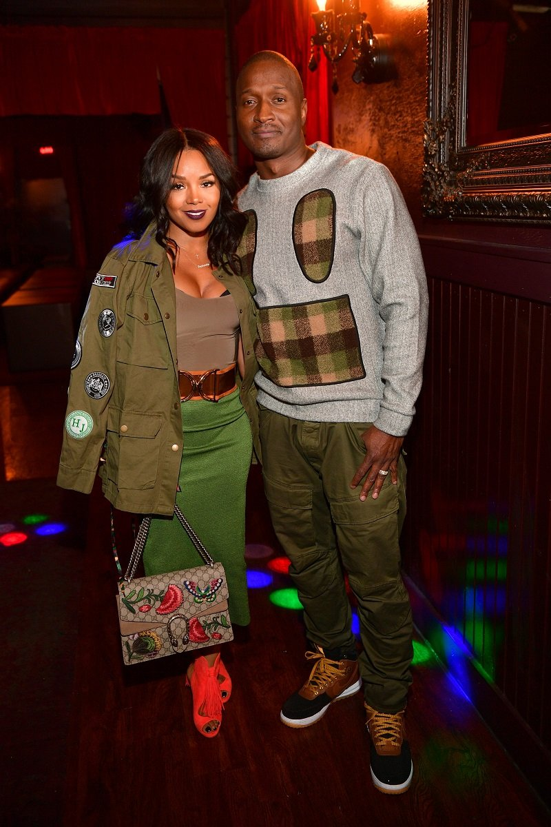 Rasheeda and Kirk Frost pose for a picture in Atlanta on November 7, 2016.   Photo: Getty Images